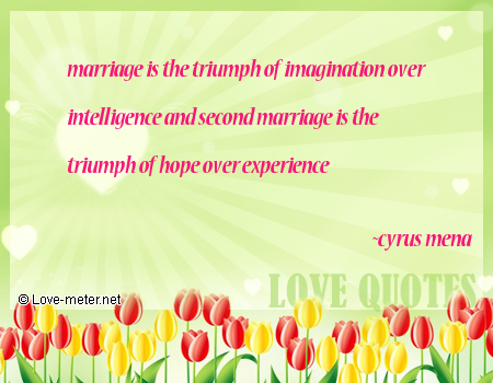 Second marriage quotes quotes